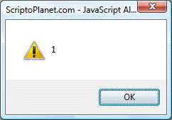 JavaScript global property turned off